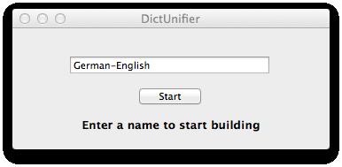 Wörterbuchname